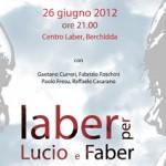 """In Sardegna il """"Laber per Lucio e Faber"""""""