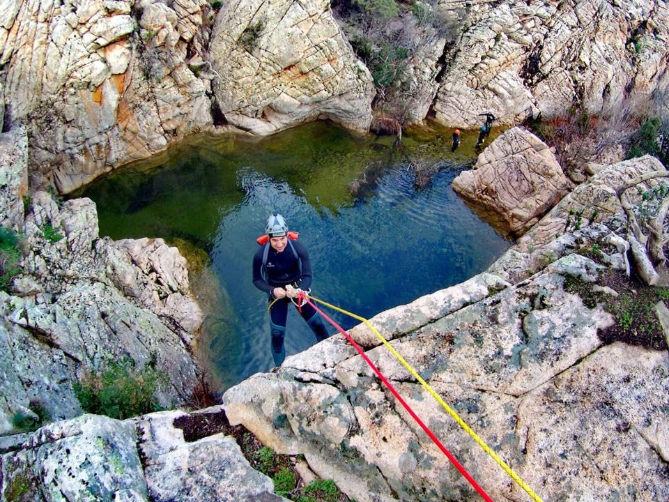 Canyoning sul Rio Pitrisconi in Sardegna