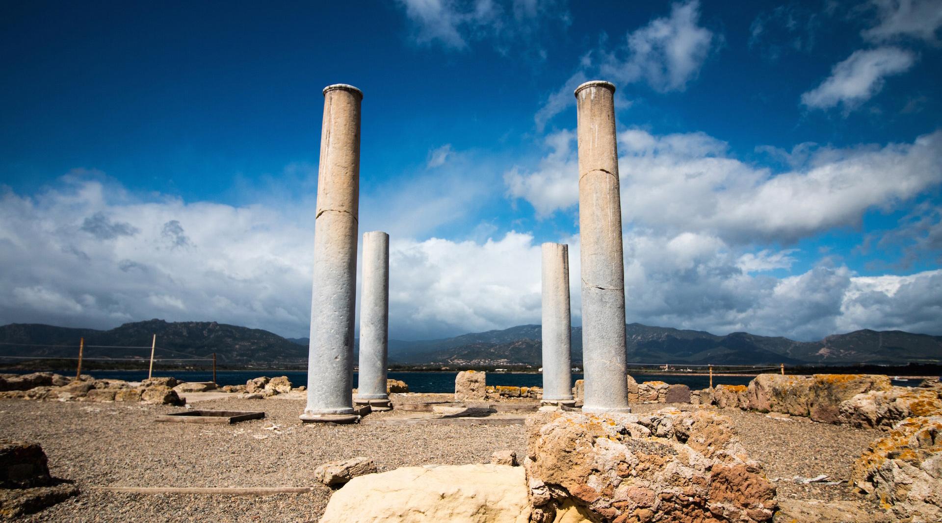 Tour archeologico a Nora in Sardegna
