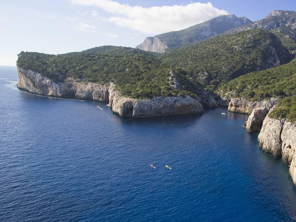 Le cale del Golfo di Orosei in Sardegna