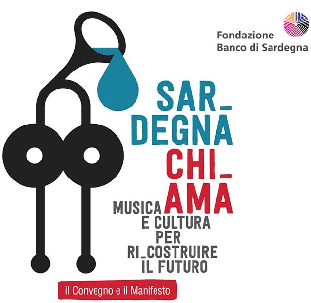 logo convegno sardegnachiama Sardegna Chi Ama. Musica e Cultura per il futuro.